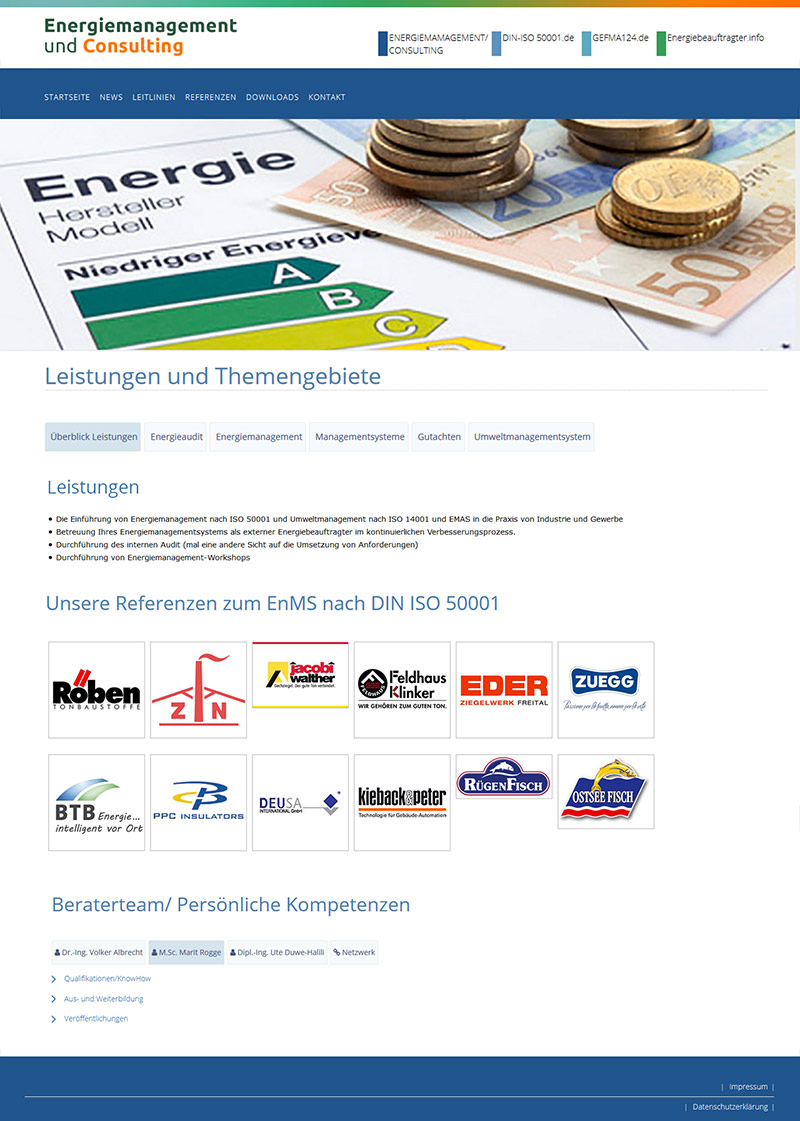 Energiemanagement und Consulting, Berlin